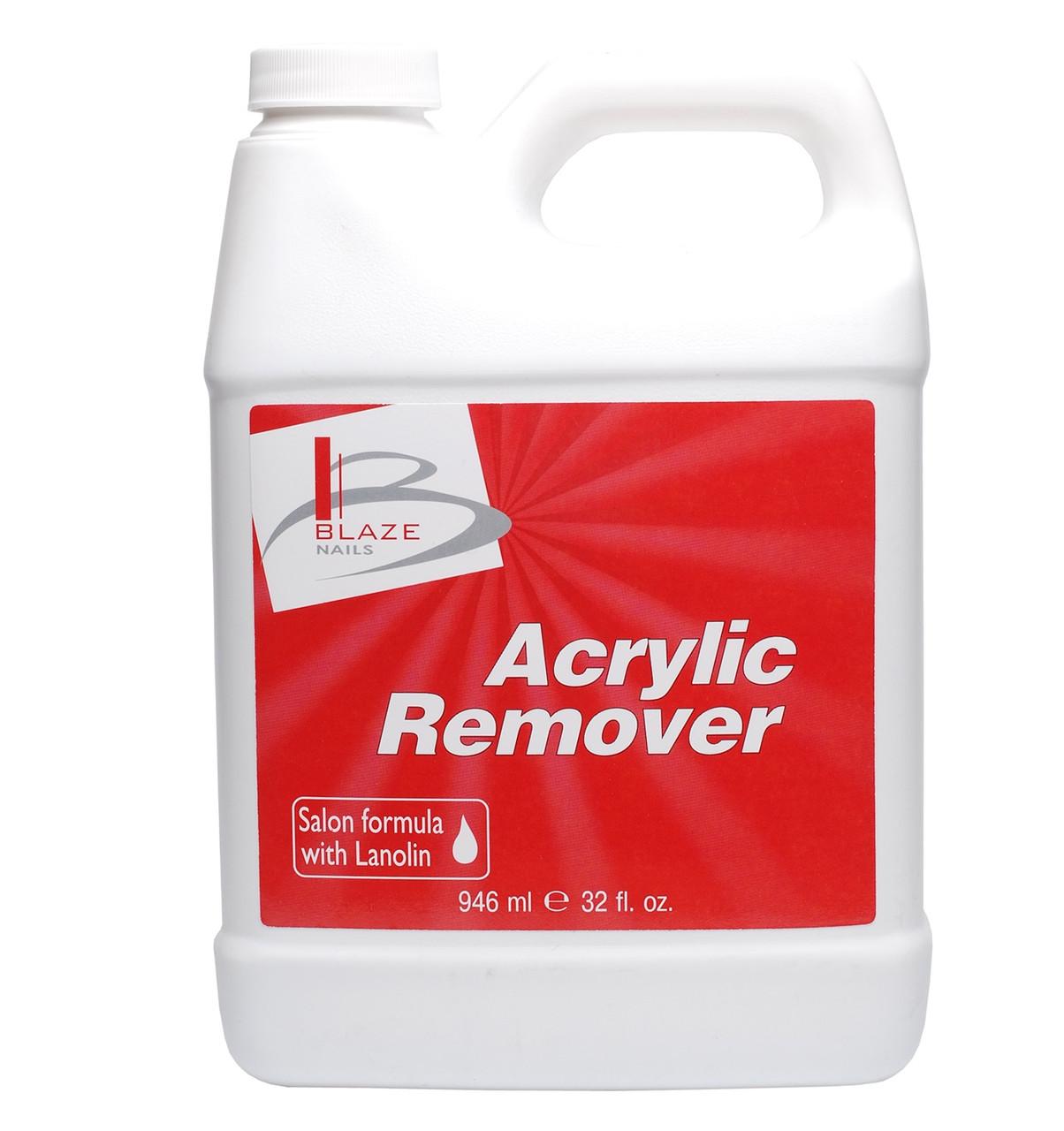 BLAZE Acrylic Remover - Жидкость для удаления искусств. ногтей, 946 мл