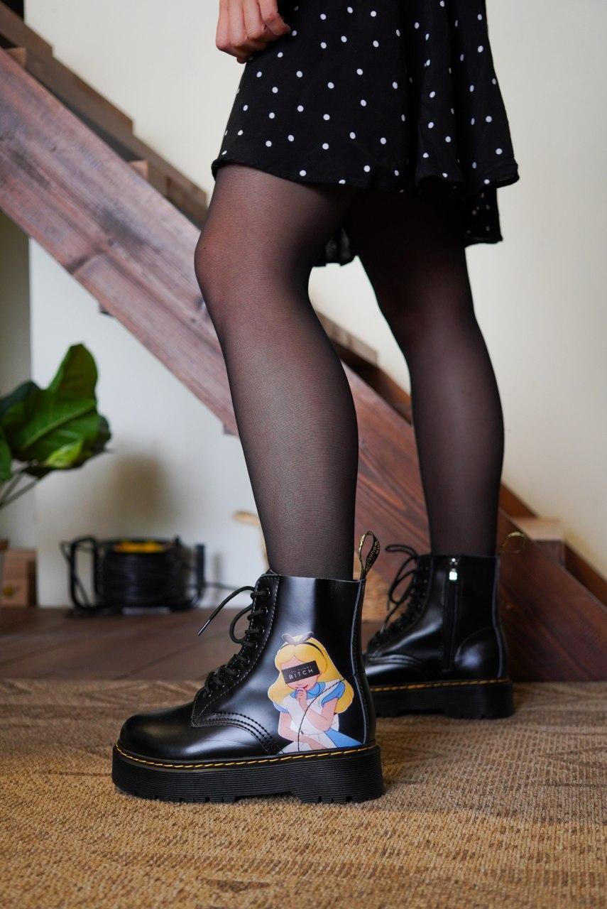 """Ботинки Dr. Martens """"Черные"""""""