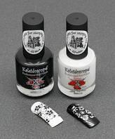 Черная и белая краска Kaleidoscope, 15 ml