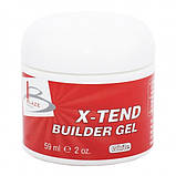 BLAZE X-Tend Builder Gel White уф гель конструирующий средний 59 мл, фото 2