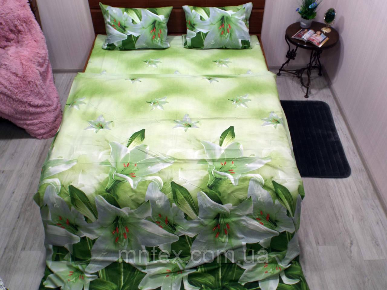 Комплект постельного белья ранфорс Лилии