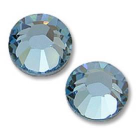 Камені Сваровські Aquamarine(100 шт)