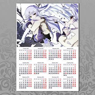 Плакат-календарь Angel Beats 14
