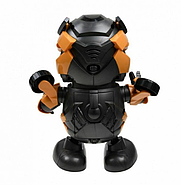 Интерактивная игрушка танцующий  робот трансформер Бамблби со световыми и звуковыми эффектами (KG-341), фото 3