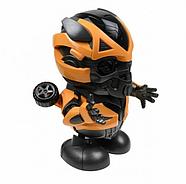 Интерактивная игрушка танцующий  робот трансформер Бамблби со световыми и звуковыми эффектами (KG-341), фото 4
