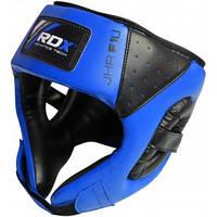 Боксерский шлем детский RDX Blue.  Синий