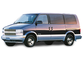 Брызговики для Chevrolet (Шевроле) Astro 1994-2005