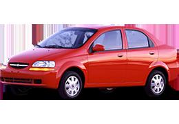 Брызговики для Chevrolet (Шевроле) Aveo T200 2002-2008