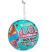 Лялька ЛОЛ Holiday Новорічний Цибулю L. O. L. Surprise 572329