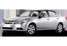 Брызговики для Chevrolet (Шевроле) Epica 2 2006-2010