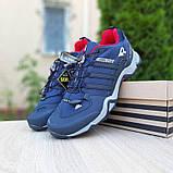 Мужские кроссовки термо Adiadas Terrex Swift r2 Blue Великаны, фото 3