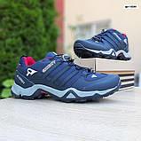 Мужские кроссовки термо Adiadas Terrex Swift r2 Blue Великаны, фото 5