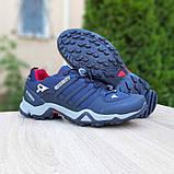 Мужские кроссовки термо Adiadas Terrex Swift r2 Blue Великаны, фото 6