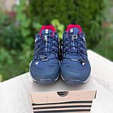 Мужские кроссовки термо Adiadas Terrex Swift r2 Blue Великаны, фото 2