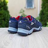 Мужские кроссовки термо Adiadas Terrex Swift r2 Blue Великаны, фото 8