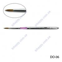 _ Кисть для акрилового дизайна(соболь) DO-06