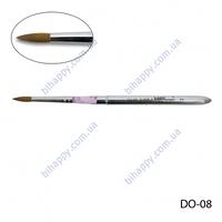 _ Кисть для акрилового моделирования(соболь) DO-08