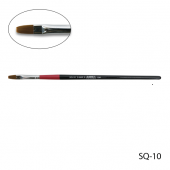 Кисть для гелевого моделирования(нейлон) SQ-10