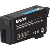 Картридж EPSON SC-T3100/T5100 Cyan, 50мл (C13T40D240)