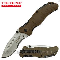 Нож складной  тактический  Tac-Force Evolution TFE-FDR001-TN Folding Knife