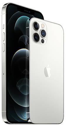 Смартфон Apple iPhone 12 Pro Dual Sim 128GB Silver (MGLA3), фото 2