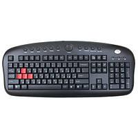 Клавіатура PS/2 мультимедійна A4Tech KB-28G Black