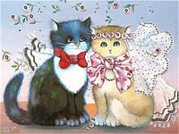 Картина за номерами на полотні 40*50 Весілля VGR