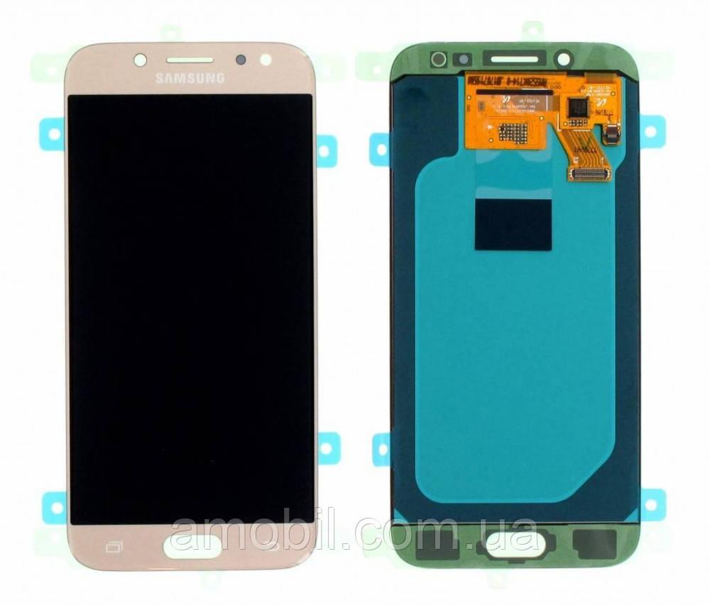 Дисплей Samsung J530 Galaxy J5 PRO 2017 Oled Gold