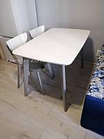 Стол Модерн Белый/Серый 120х75 СО-293