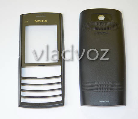 Корпус Nokia X2 05 чёрный без клавиатуры не дорогой, фото 2