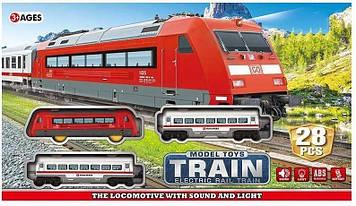 Детская железная дорога JHX 8812 (28 элементов) Игрушечная железная дорога Детская железная дорога