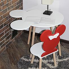 Дитячий стіл і стільчик Міккі / Mikky