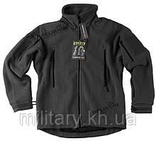 Куртка флісова LIBERTY Helikon-tex, колір: чорний