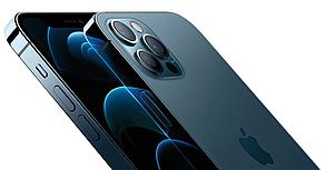 Смартфон Apple iPhone 12 Pro Dual Sim 512GB Pacific Blue (MGLM3), фото 2