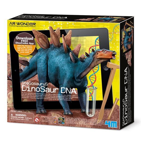 Набор для раскопок 4M ДНК динозавра Стегозавр (00-07004)