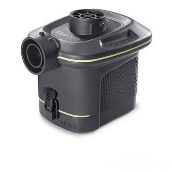Электрический насос для надувания Intex на батарейках Пластиковый насос для надувания электрический