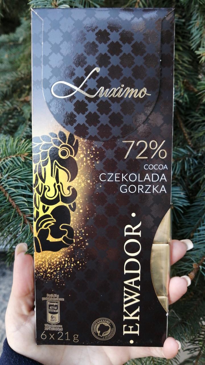 Шоколад Luximo 72 % какао