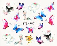Слайдер водный для дизайна ногтей STZ-987