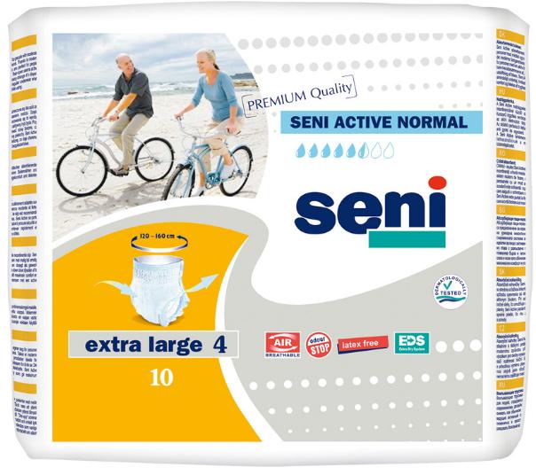 Подгузники-Трусики Для Взрослых Seni Active Normal Extra Large 10 Шт (5900516693060)