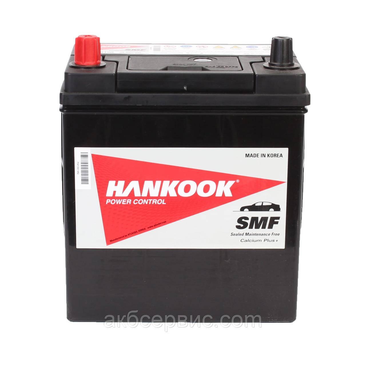 Аккумулятор автомобильный Hankook 6СТ-42 Аз Asia SMF50B19R