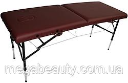 Алюминиевый двухсекционный переносной стол DIPLOMAT бежевый