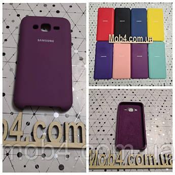 Брендовый чехол накладка Silicone Cover для Samsung Galaxy (Самсунг) J5