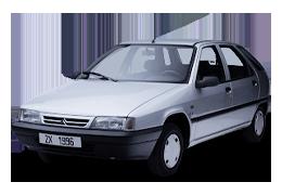 Брызговики для Citroen (Ситроен) ZX 1991-1997