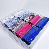 Фольга  в контейнере для литья и дизайна ногтей, набор 10шт