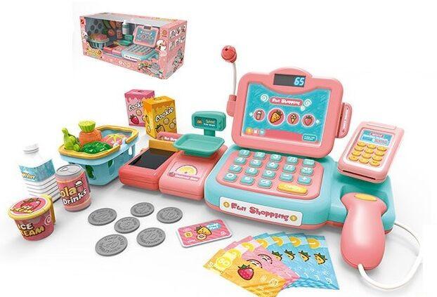 Кассовый детский аппарат 888 G 24 предмета