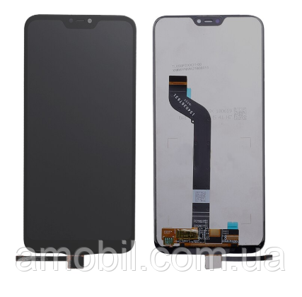 Дисплей + Сенсор Xiaomi Mi A2 Lite / Redmi 6 Pro black orig б.у с дефектом