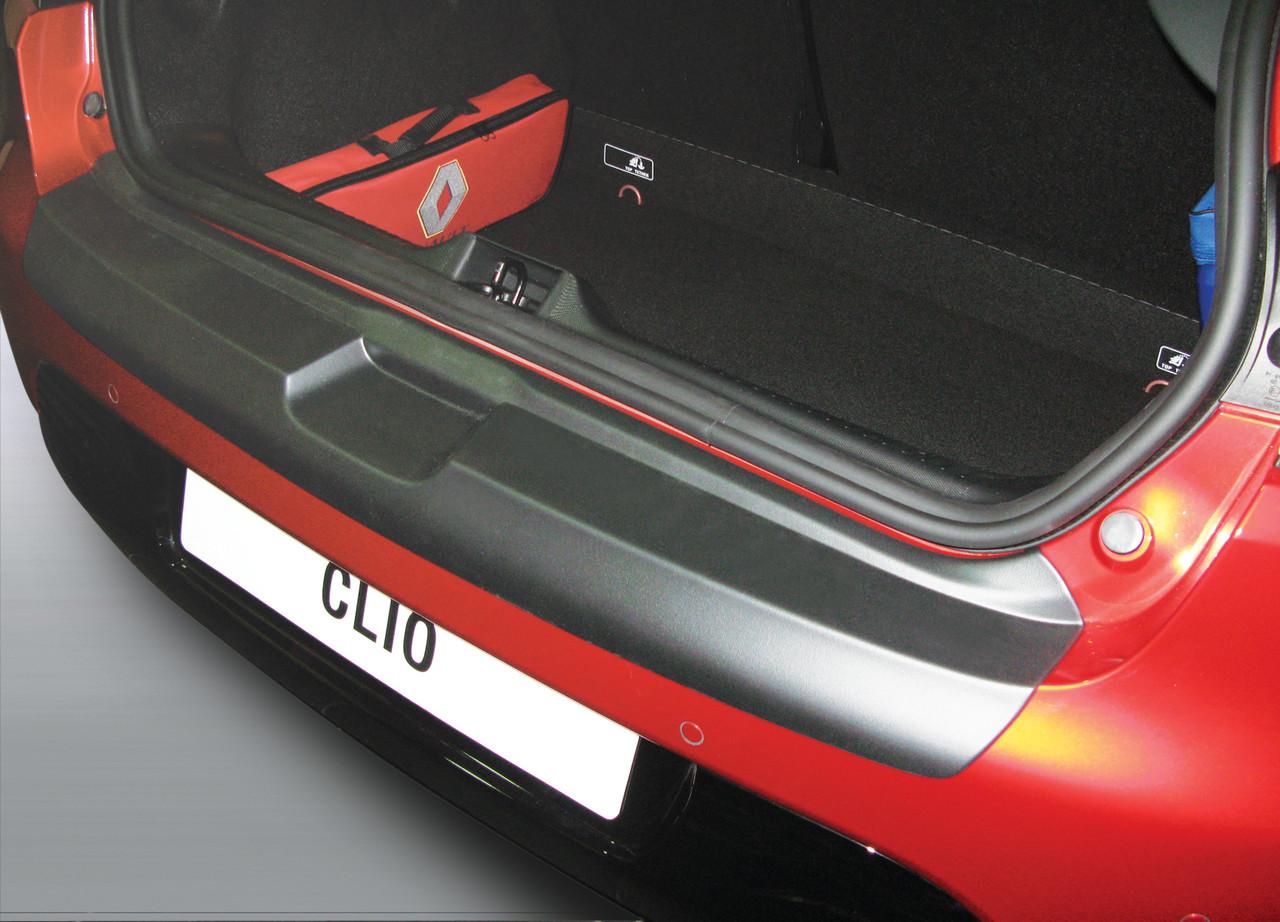 Пластикова захисна накладка на задній бампер для Renault Clio lV 2012-2019, фото 2