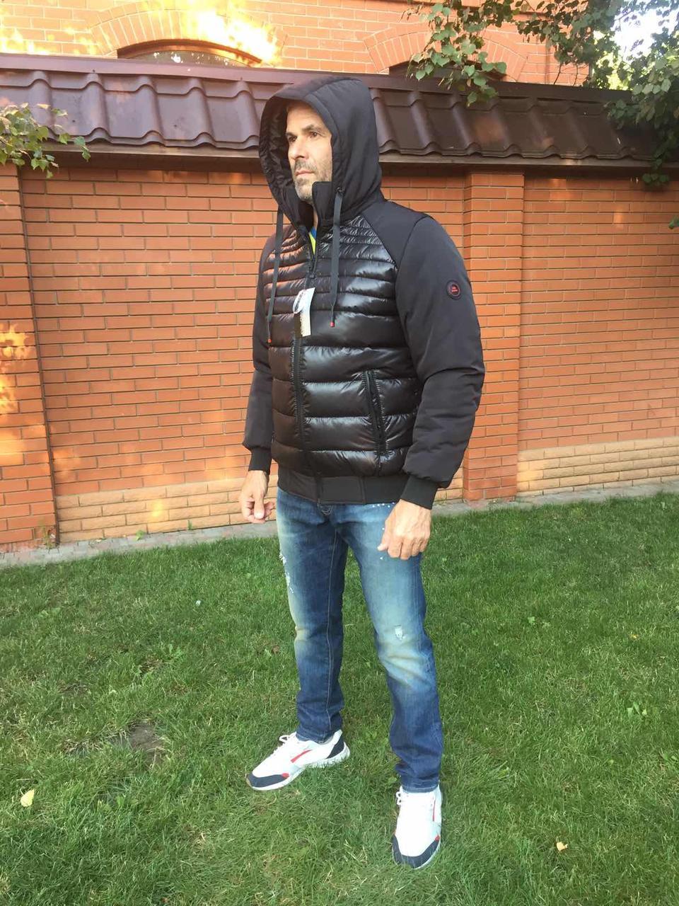 Зимняя мужская куртка пуховик размеры от  46 до 56