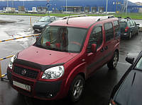 """Продольные рейлинги """"Crown"""" Fiat Doblo 2005-2010 г.в."""
