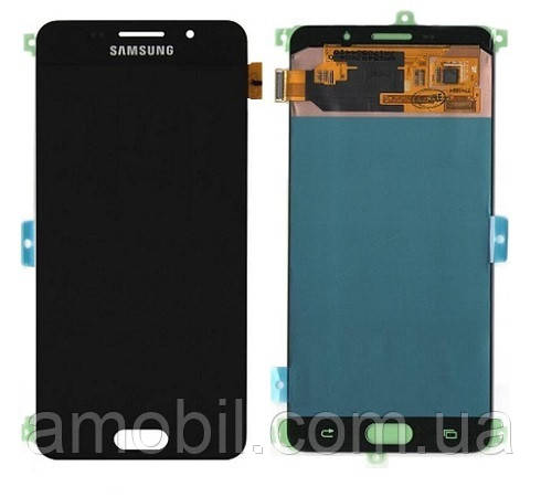 Дисплей Samsung OLED A710  Galaxy A7 2016 Black orig